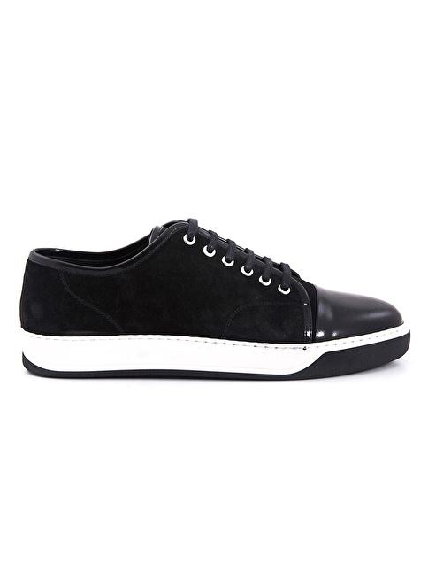 Mocassini Bağcıklı Ayakkabı Siyah